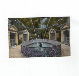 AK Ansichtskarte Schwetzingen / Schlossgarten / Wasserspeiende Vögel