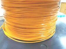 Teflon 18awg Tfe 18ga Orange Strand Wire Silv Plated Per 20ft Section Freeship