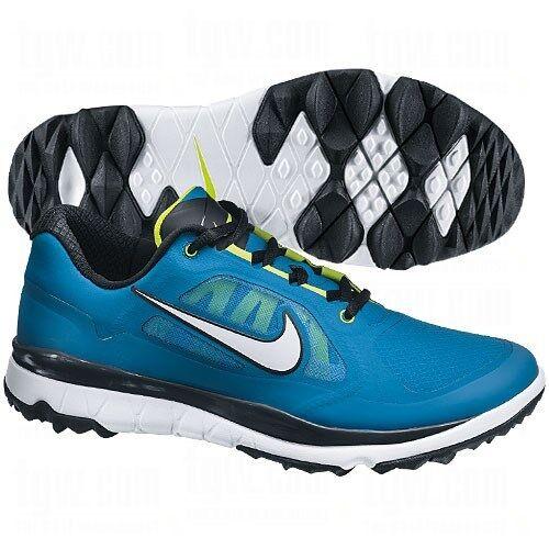 Nike Golf FI Impact Golf HombreAzul/Verde/Negro/Blanco Zapatos  de HombreAzul/Verde/Negro/Blanco Golf 9c6278