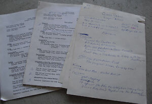 unique original 1970s queen yahna handwritten resume and copies