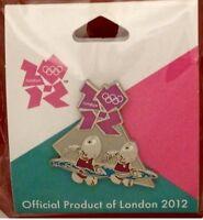Synchronized Swimming Olympic Pin Badge 2012 Londonmascot Wenlockgames Mark
