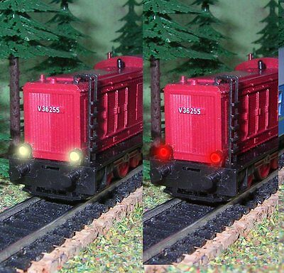 Bausatz LED-Licht warmweiß-rot für V36 der BTTB/TILLIG