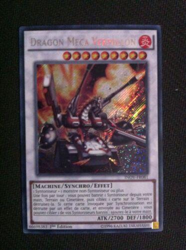 Yugioh dragon mecha vermillon inov fr081