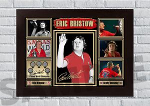 Eric Bristow Crafty Cockney PDC Darts A4/A3 Signed Print Unframed/Framed (#64)