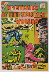 M0469: Mysteries of Unexplored Worlds #19, Vol 1, VF/VF+ Condition