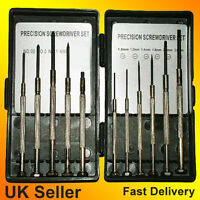 11pcs Precision jewellers watch screwdriver mini micro set laptop mobile glasses