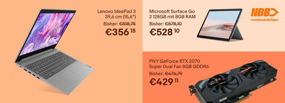 -10%* auf Laptops & Technik – Zur Auswahl - -10%* auf Laptops & Technik