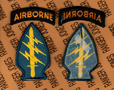 US Army Special Forces Groups Airborne Odd color dress uniform patch