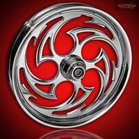 Suzuki Hayabusa Custom Chrome Wheels the Predator By Ftd Customs