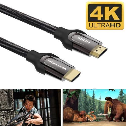 1M-12M HDMI Kabel V2.0 4K@60Hz 3D 1080P HDTV Ethernet HDTV LCD LED Monitor LED