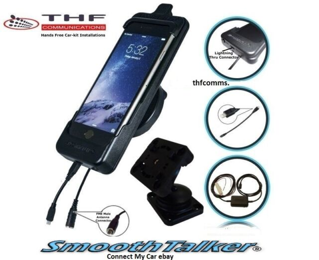 Smoothtalker iPhone 6 iPhone 6S car Cradle  new style cradle with antenna socket