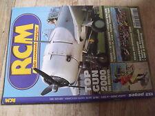 "$$k Revue RCM N°231 Plan encarté ""Nieuport 17""  Top Gun 2000  El'lot Spirale"