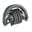 Audio-Technica-ATH-M50X-Closed-Back-Pro-Studio-Monitor-Headphones-Black thumbnail 4
