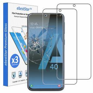 ebeststar-3-x-Vitre-Verre-trempe-Samsung-A40-Galaxy-A405F-Film-Protection-Ecran
