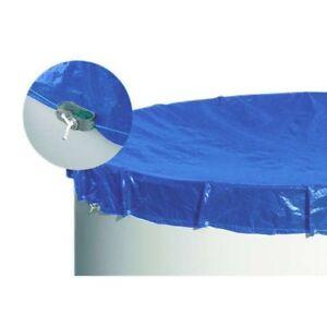 poolabdeckung abdeckplane poolplane blau f r pools m rund schwimmbad ebay. Black Bedroom Furniture Sets. Home Design Ideas