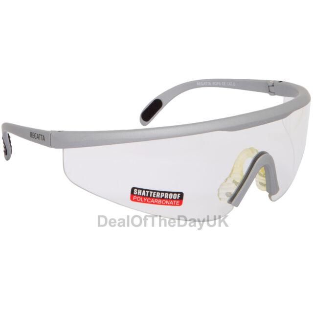 e05622f626e Regatta Cycling Glasses Sports Sunglasses Uva400 Safety Clear Orange ...