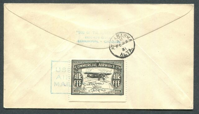 CANADA B.O.B. CL48 ON FIRST FLIGHT COVER