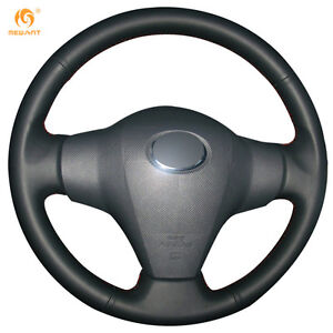 Leather-Steering-Wheel-Cover-for-Toyota-RAV4-Vios-Yaris-Scion-XB-2008-FT25