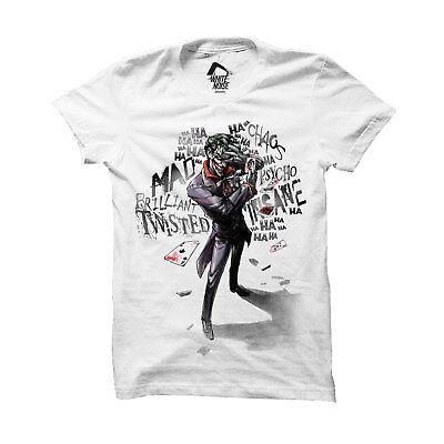 DC Comics Crazed Joker T-Shirt Uomo