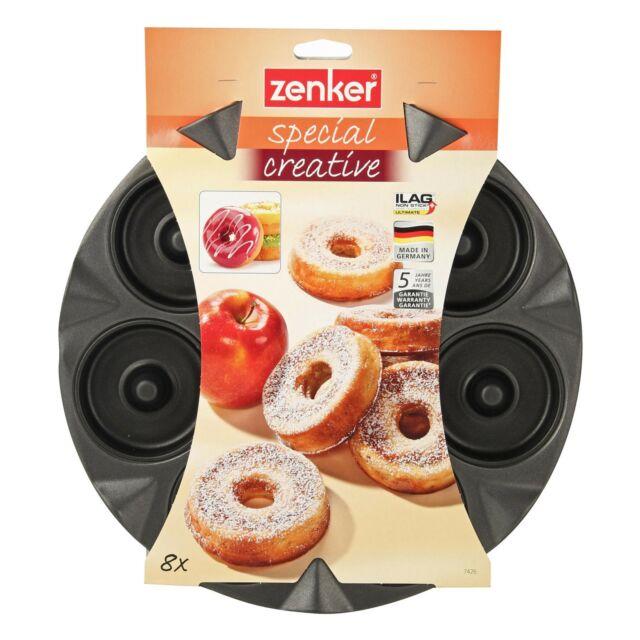Zenker 8er Apfelküchli Backblech Apfelküchlein Backform Kuchen Backzubehör NEU   eBay