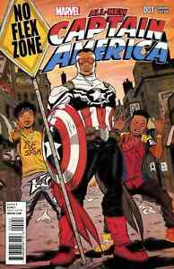 All New Captain America 1 Marvel Interscope No Flex Zone Rae Sremmurd Variant