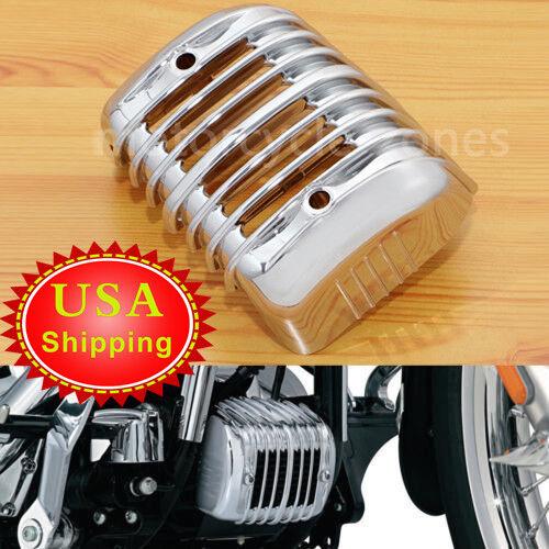 DS Chrome Voltage Regulator Cover Harley Davidson #143907