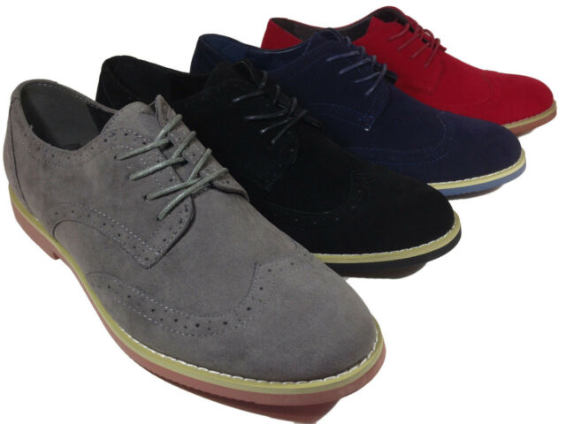 New Mens Fashion WingTip Lace up  Dress Comfort Casual Shoes Oxfords
