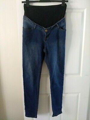 Audace Boohoo Denim Blu Sulla Pancia Dritto Jeans Uk12- Le Materie Prime Sono Disponibili Senza Restrizioni