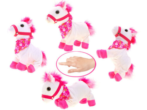 Interactive Pet Animal Rabbit Guinea Pig Horse Noises Moves Nose Ears Gift child