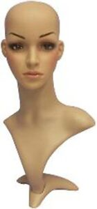 Brand-New-Mannequin-Head-Bust-Wig-Hat-Jewelry-Display-Plastic-systel-MZ-H1052