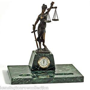 Lawyers Amp Legal Blindfolded Lady Justice Desk Organizer