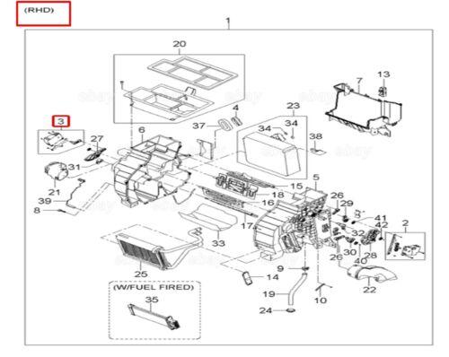 OEM Mix Actuator ASSY KIA Sportage 2005-2010 Hyundai Tucson 2005-2009 971592E200