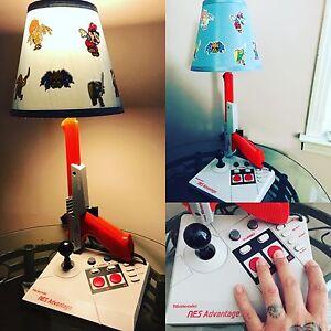 ... NES NINTENDO MINI CUSTOM LAMP LIGHT ADVANTAGE ZAPPER