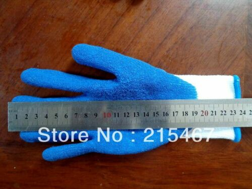 Professional High quality cotton latex dipped Donning Gloves Compression Stock