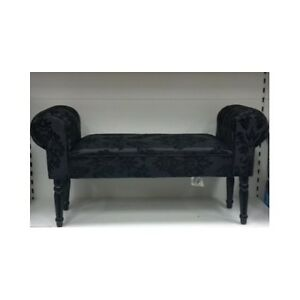 Hallway home furniture velvet sofa chair window seat for Chaise longue window seat