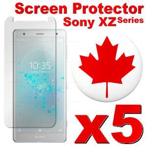 Tempered-Glass-Screen-Protector-For-Sony-Xperia-XZ2-XZ1-XZ-Z5-XA2-XA1-5-PACK