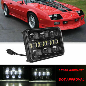 4X6/'/' INCH 150W LED Headlight Hi-Lo Beam Halo DRL Chevrolet Monte Carlo Camaro