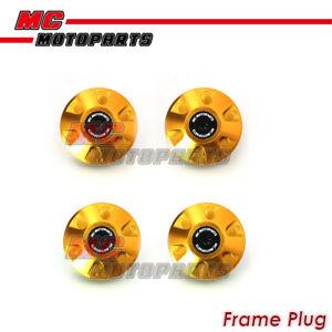 4pcs-Gold-CNC-Billet-Frame-Plugs-Set-For-Ducati-Scrambler-2015-2017-15-16-17