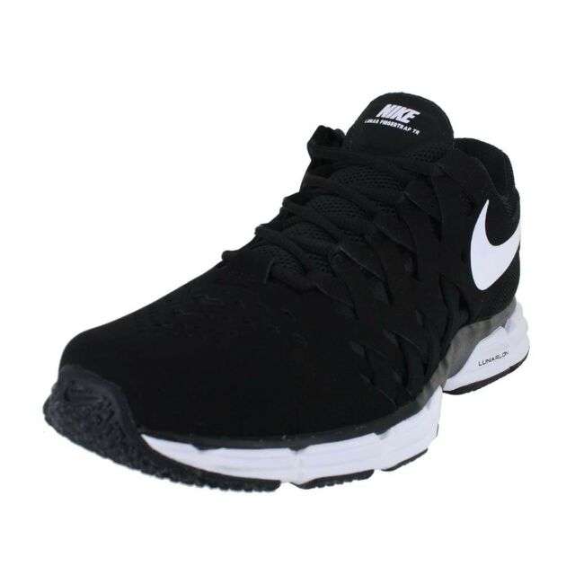 aefb71ee2df NIKE LUNAR FINGERTRAP TR 4E EXTRA WIDE BLACK WHITE 898065-001 MENS US SIZES