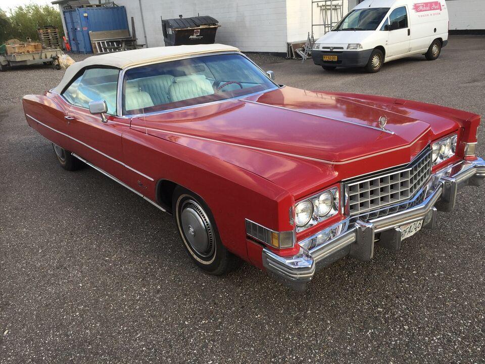 Cadillac Eldorado, 8,2 Cabriolet aut., Benzin