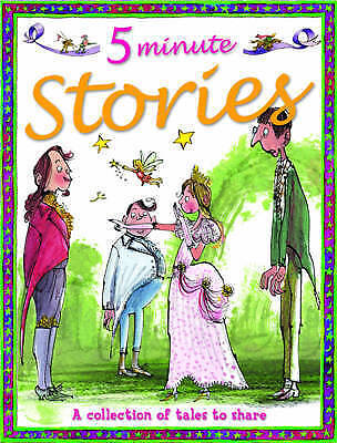 """""""AS NEW"""" 5 Minute Stories, Belinda Gallagher, Book"""