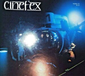 Cinefex 39 · August 1989 · The Abyss · James Cameron · Forme éLéGante