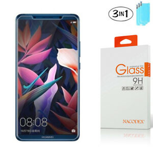 3-Pack-Nacodex-For-Huawei-Mate-10-Pro-Tempered-Glass-Screen-Protector