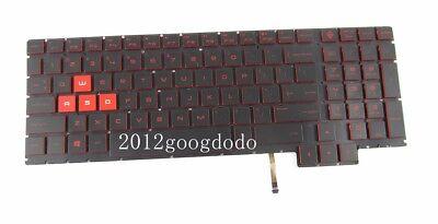 Original HP Omen 15-CE001TX 15-CE025TX 15-CE026TX 15-CE051NR Keyboard US Backlit