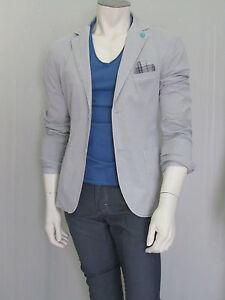 e9d4badea9 Caricamento dell'immagine in corso giacca-uomo-ultra-slim-cotone-tinto-capo -con-