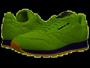 Monografía debajo alcanzar  Reebok Classic Leather Pastels Men's Shoes Green Sz 10 BS8968 | eBay