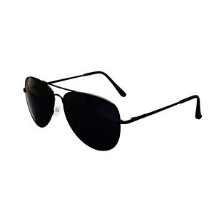 Black-Aviator-Sunglasses-amp-Cloth-Case-Uv400-Designer-Mens-Ladies-Shades