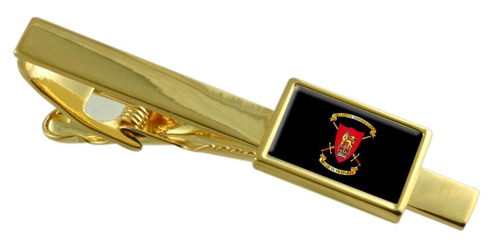 GRUPPO di addestramento militare collettivo collettivo collettivo oro-Tone Fermacravatta inciso 148054