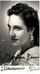 soprano-Anna-Maria-ROVERE-signed-Autograph-Opera-Autografo-Lirica