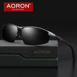 Aluminum Mens Polarized Driving Sunglasses UV400 Eyewear Pilot Sport Sun Glasses